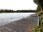 Private fishing dock
