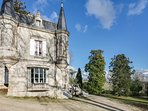 Authentique château dans les vignobles du Bordelai