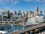 Location Shot-Darling Harbour & City Skyline