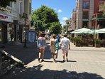 Bogoridi pedestrian way to the sea