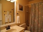 Full bathroom 2; also newly updated