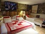 Une chambre confortable et cosy