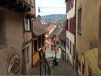 Wasselonne - la rue des escaliers