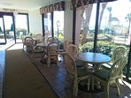 Palms Resort lobby area, brochure racks and great gathering spot  . . .