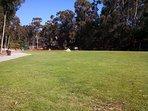 Nearby Hoyt Park open field