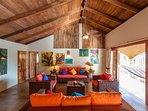Your living area - colorful, beautiful and bright.