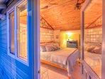 Mariner's Bedroom:  Nova Foam King Bed with gel top