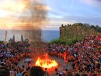 Spectacular Kecak Dance. Tours/excursions with our driver (surcharge).