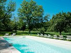 Le Four a Sel Holiday Homes.10m x 4m childproof pool