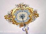 Ceiling Art Design for the Living Room - Taken from Peterhof