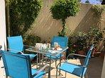 Enjoy your breakfast in our lovely sunny rear terrace