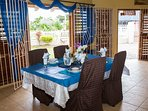 Authentic Jamaican cuisine awaits you. Staff are ready to pamper you.