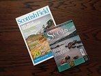 Relax & enjoy reading Scots Magazine &  Scottish Field