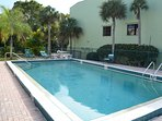 Our pool is only shared by 18 units so it remains always calm and peaceful.