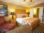 Luxurious bedrooms ensure all your guests stay in comfort!