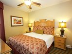 Comfortable Bedrooms ensure everyone will feel right at home!