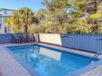 Heated In-ground Private Pool - Enjoy relaxing poolside and grilling out with the family on the gas grill after a day...