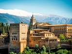 The stunning Alhambra Palace in Granada - a UNESCO heritage site and a must see