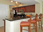Everything you need in this fully equipped kitchen.