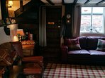 Cosy lounge.