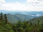 View from Whiteface Mtn