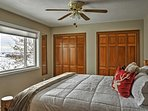 Look forward to ending your vacation days in the inviting master bedroom.