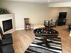 The convertable billiard table.