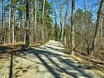 Scenic walking trails lie just minutes away.