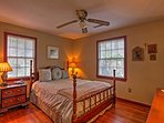 Both bedrooms offer comfy queen beds.