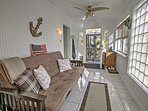 Take an afternoon snooze in the sunroom!