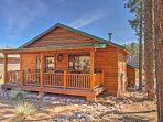 Escape to this 2-bedroom, 2-bathroom  vacation rental cabin for the ultimate Show Low getaway!