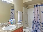 This condo features 2 full bathrooms so guests can have the utmost privacy when getting ready for bed.