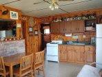Bluejay kitchen.