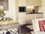 All the facilities from a dishwasher to a Krups coffee machine to make your stay homely!