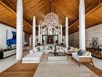 Villa Amarapura Phuket - Cape Yamu - Dining / Living Area