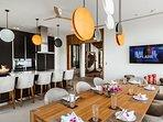 Villa Amarapura Phuket - Cape Yamu -  Kitchen / Breakfast Area