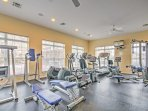 Enjoy a morning workout in the fitness center.