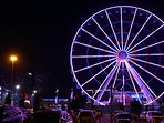 panoramic wheel at night