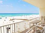 Balcony Sea Dunes Resort Unit 202 Fort Walton Beach Okaloosa Island Vacation Rentals