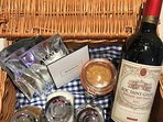 Typical welcome hamper
