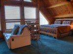 King Size Master Loft Bedroom