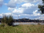 Lac au Duc inland beach and lake near ploermel with watersports is only half an hour away.