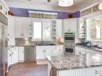 Fully Equipped Gourmet Kitchen - Home has 4 Refrigerators