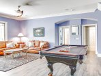 Pool Table in 3rd Living Space