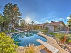 Make a splash in the heated pool at this Scottsdale vacation rental home!