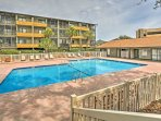 Escape to beautiful Myrtle Beach and walk only a few steps to the beach when you stay at this 2-bedroom, 2-bathroom...