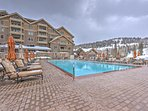 Enjoy the outdoor community pool.