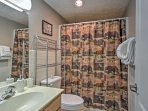 With 2 bathrooms, getting ready in the morning is a breeze.
