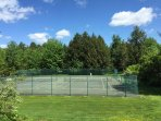 2nd Set of Tennis Courts on the Stonybrook Grounds