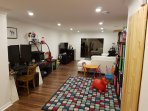 rec room and play room